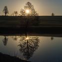 """ráno u rybníka """"Pod Kopcem"""""""