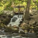 Vodopád v parku