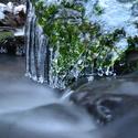 Rešovské vodopády v zimě