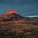 Východ slunce na Islandu