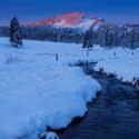 Svítání u Hamerského potoka