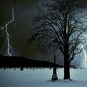 zimní bouře