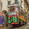 Barevný Lisabon