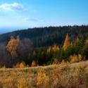 Listopadové panorama ze Sv. Hostnýna