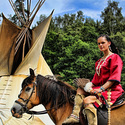 Indiánská squaw