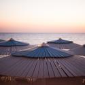 Deštníčky na pláži