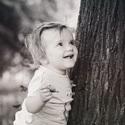 Takhle se usmívá jen na tatínka :-)