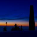 Lysá hora za soumraku