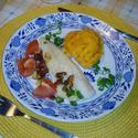 Lahodný candát a pyré z máslové dýně