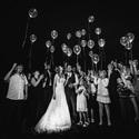Noční pouštění balónků