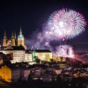 Novoroční ohňostroj 2018
