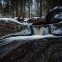 U zimní řeky