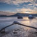 Zimní sečská přehrada