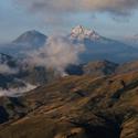 Vulkán Iliniza Ekvador