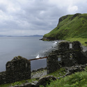 An Cailc - diatomite, Isle of Skye, Skotsko