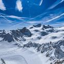 Pohle na Alpy z Pitzalu - Gletscher 3.440mnm