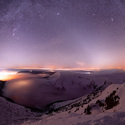 Noc trávená na Sněžce