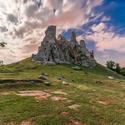 Zrúcanina hradu Hrušov....