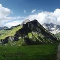 vrcholky Lechtálských Alp