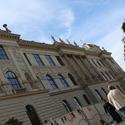 Momentka z Prahy - U opravovaného muzea
