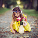 Květinářka....