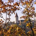 Podzimní Křivoklát