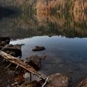 Podzimní dopoledne u jezera