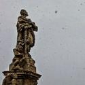 Sněží v KH