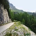 Silnička na Mangart , Slovinsko