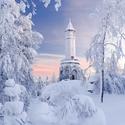 Zimní pohlednice ze Štěpánky