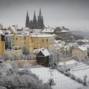 Praha zasněžená