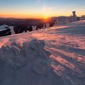 Svítání na Červené hoře