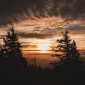 Východ slunce v Beskydech :-)