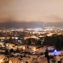 noc nad městem
