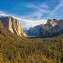 Vyhlad na Yosemite Valley