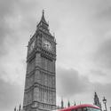 Denní provoz pod Big Benem