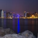 Katar - Dauha  pohled na Al Corniche