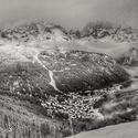 Zimní údolí