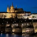 Pražský hrad a Karlův most