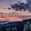 Západovka z Hostýnských vrchů