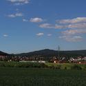 Pohled přes pole