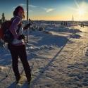 Dlouhé stíny na Sněžných jamách