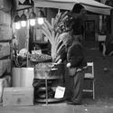 Prodejce kaštanů