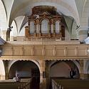Varhany v kostele sv. Jiří v Chřibské