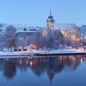 Týn nad Vltavou v zimě ...