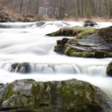 Peřeje řeka Ostravice