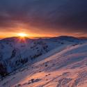 Západ v Nízkych Tatrách