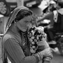 Nepálská žena na ulici