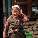Babička z Himalájí