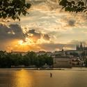 Božské olo nad Prahou